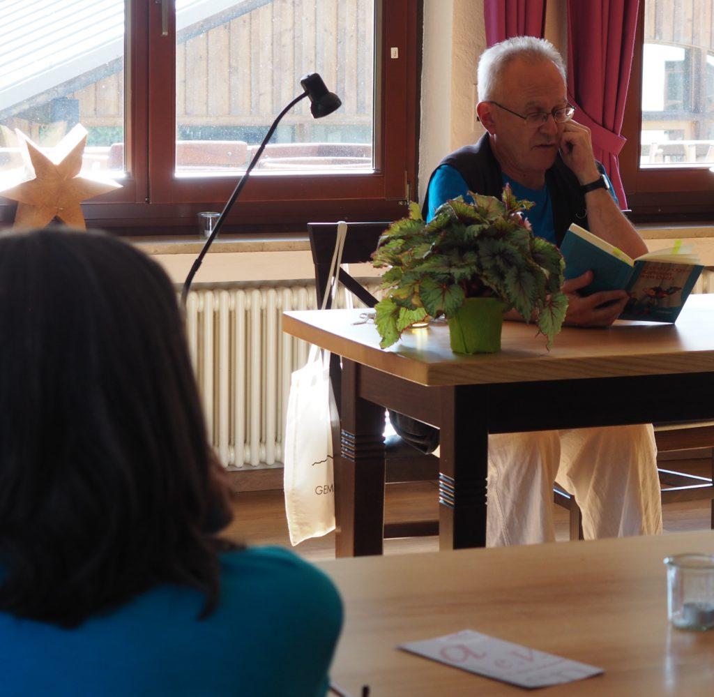 Stefan Krause liest Karlsson vom Dan