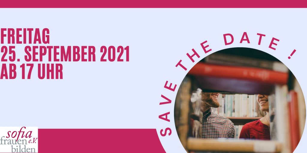 Lange Nacht der Bücher Save the Date 2021